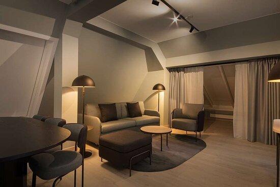Scandic Victoria Lillehammer Room Master Suite Livingarea