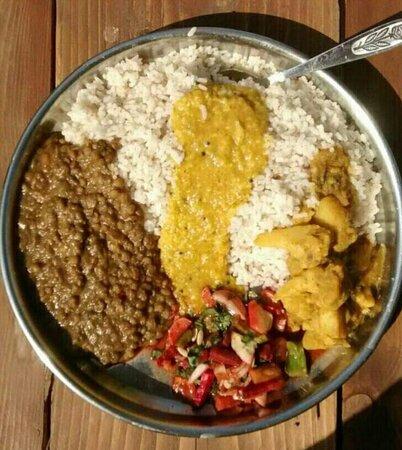 Mixed Persian dish
