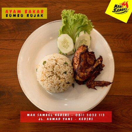 Ayam Bakar Rujak