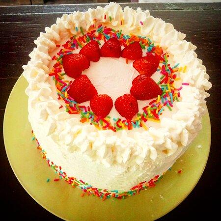 3 Milk Birthday Cake