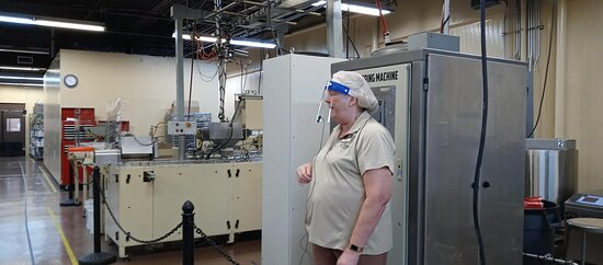 Teresa was great. Seeing the equipment was informative.