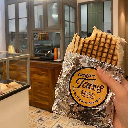 Tacos a la francesa para llevar