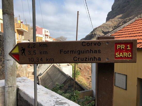 Santo Antao, Cape Verde: Stąd liczne trasy trekkingowe