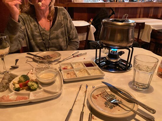Dinner was fun! It was a unique and interactive experience. Food portions were huge! There is no way you will leave LaFondue hungry!