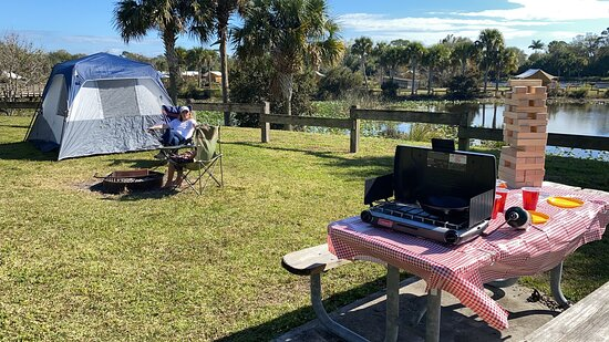 Primitive Camping. Family games available with reservations on site.