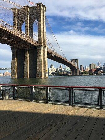 Thành phố New York, NY: Brooklyn Bridge -walker