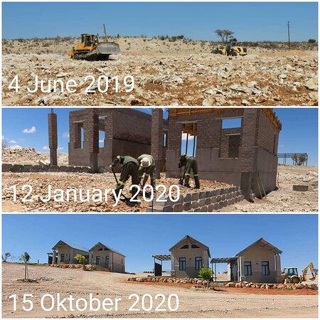 Stampriet, Namibia: Progress