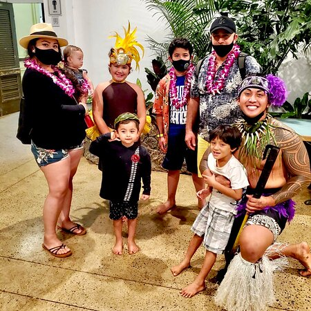 Toa Luau at Waimea Valley: Best Luau Ever!!!! Took mostly videos but here are a few pics.  Educational, good amount of activities and great food! Met many wonderful and incredibly humble people that made us feel like family. My son still practices saying apple banana in Hawaiian. Thanks Chief Manny.