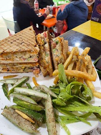 Sandwich Wd Cappuccino