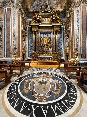 The Cappella Paolina was founded in 1611 by Pope Paul V, and is named after him. The edifice was designed by Flaminio Ponzio, who was also responsible for the memorials to Pope Paul and Pope Clement VIII.
