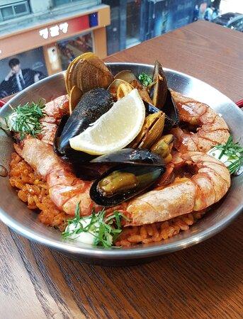 西班牙海鮮鍋飯