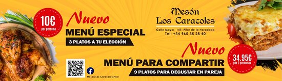 Vamos a probar !!! Come and try our delicious menus