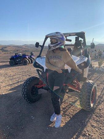 Agafay desert quad biking Resmi