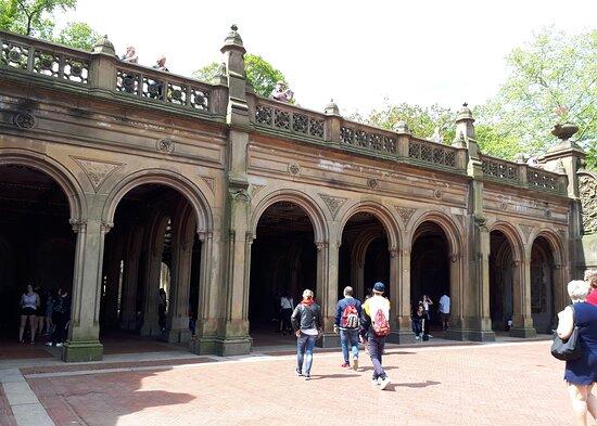 Central Park, Manhattan Mai 2019 Bethesda Terrace
