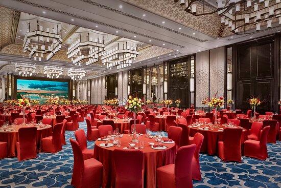 Grand Ballroom - Red Wedding Reception