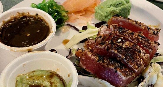 Ahi Tuna Appetizer - So Fresh.