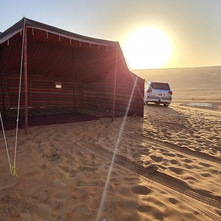 Tent in Wahiba Sands Desert 🏜