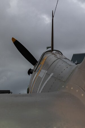 """Our Mark II Spitfire """"Vicky""""  This aircraft has appeared in TV Dramas such as """"First LIght"""" and Grandpa's Great Escape"""