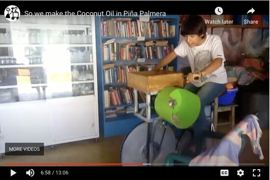 Preparing coco on cycle