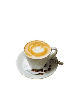 Кофе всегда итальянский. Капучино.