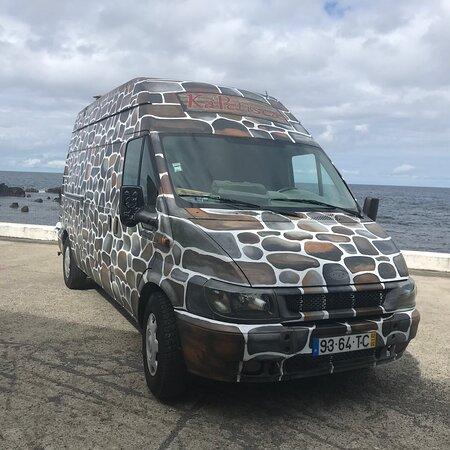Santa Cruz das Flores, Bồ Đào Nha: Food Truck