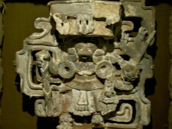 Πόλη του Μεξικού, Μεξικό: Souvenirs de mes Voyages --- Mexique -- Sculptures  de la civilisation précolombienne au Musée d'Anthropologie de Mexico  21.01.24