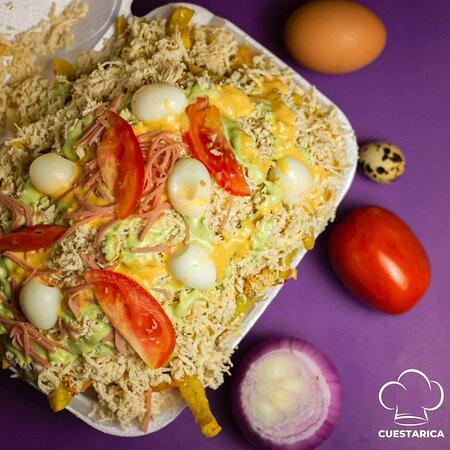 Si disfrutas tanto comer tu salchipapa🍟🍟🍟 con nosotros, entonces estás en el lugar correcto. 😉🍟 #mencantacuestarica #cuestaricamimejoropción