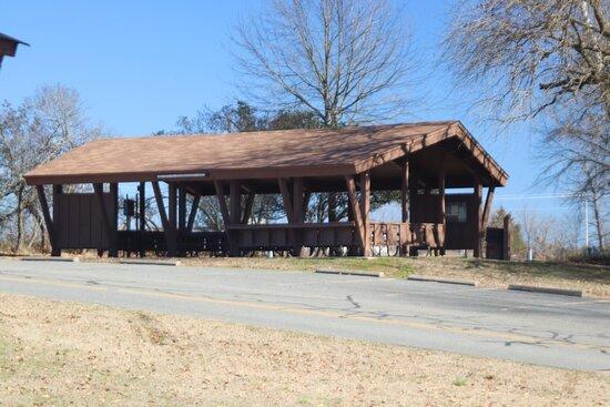 A huge shelter