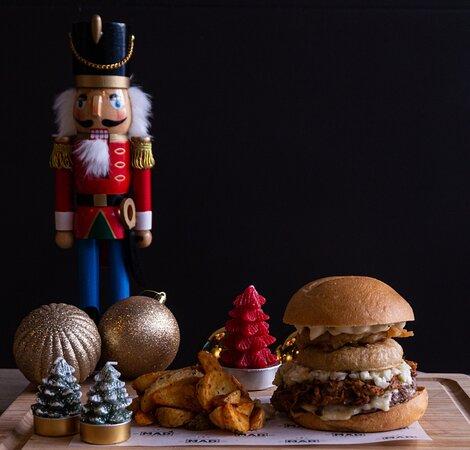 Whisky Pork Burger