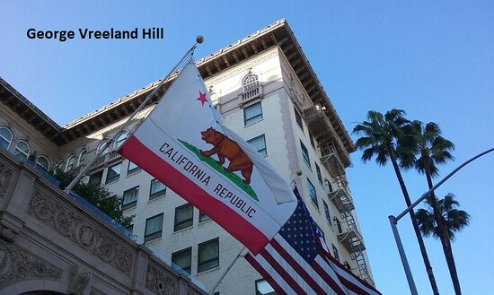 The Beverly Wilshire Hotel in Beverly Hills.  Photo by, George Vreeland Hill