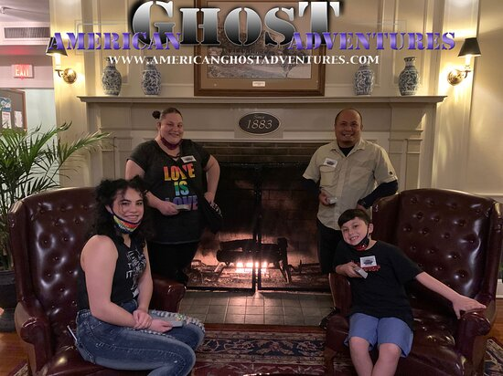 Family fun on a haunted hotel tour