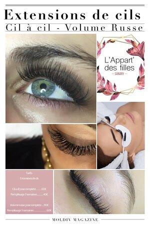 Sublimez vos yeux avec des extensions de cils personnalisées !