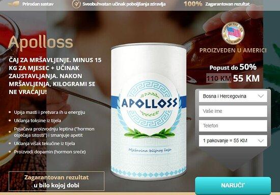 Bosnia and Herzegovina: Apollos je tako moćan pripravak koji vam pomaže da brzo smanjite višak kilograma, a možete ga kupiti ovdje: https://flekosteelbalzam.com/bs/apolloss-caj-cijena/