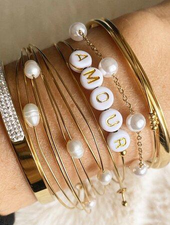 Toutes les inspirations bracelets vous attendent à L'appart des filles Sanary ;)