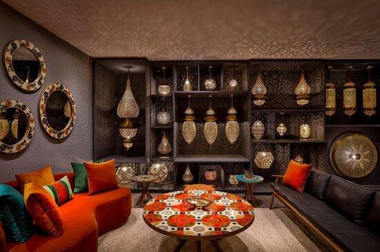 Marrakech, Marruecos: Les couleurs sont toujours à l'honneur chez Les DixDoigts.