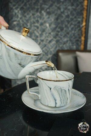 餐茶....
