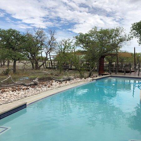 Okaukuejo, Namibia: Etosha Oberland Lodge, Etosha Park Süd, Namibia