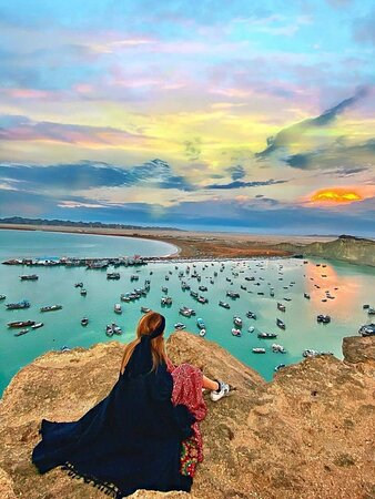 Chabahar, Iran: ❤️ Iran 🇮🇷 baris port 😍