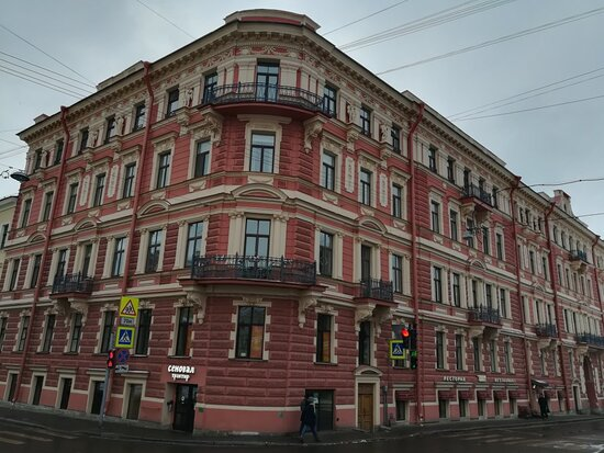 Revenue House and Public Baths of M.S.Voronin