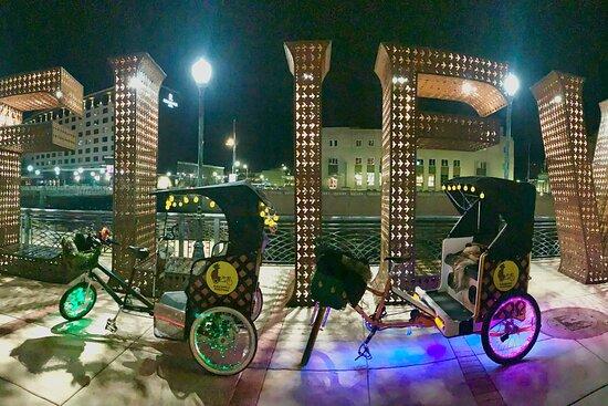Pineapple Pedicabs