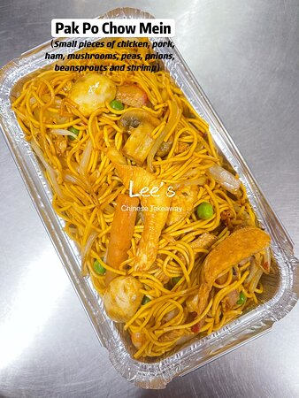 🍥If you guys don't like the chunky meat in Special Chow Mein, you would try Pak Po Chow Mein then 🥠it looks so fantastic too😋