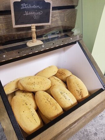 Crusty Italian Hoagie Buns