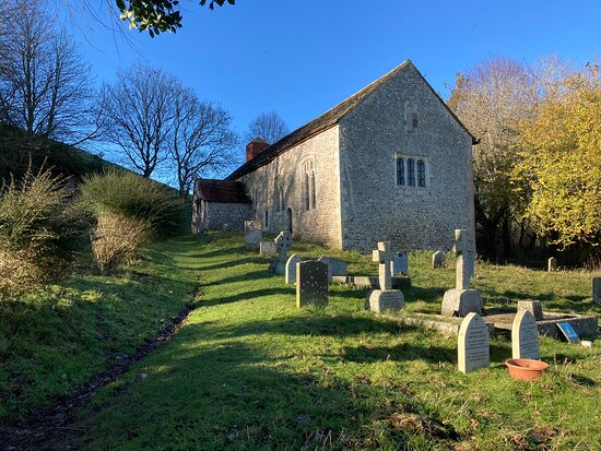 Coombes, UK: Chapel right next to the farm.