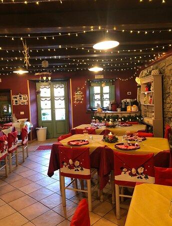 Pranzo Natale agriturismo Al Castagno Abetone Cutigliano