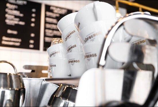 Välj mellan flera olika kaffedrinkar