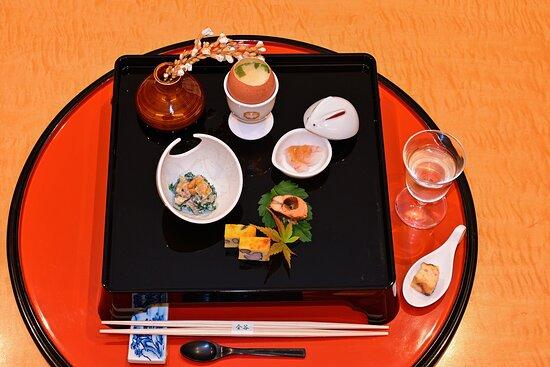"Incredible appetizers (""Sakizuke"")"