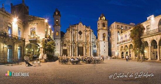 Havana, Cuba: Plaza de la Catedral de la Habana, Cuba