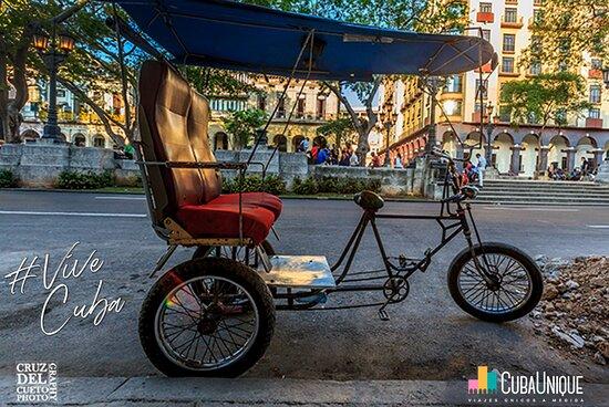 Havana, Cuba: BiciTaxi, Cuba