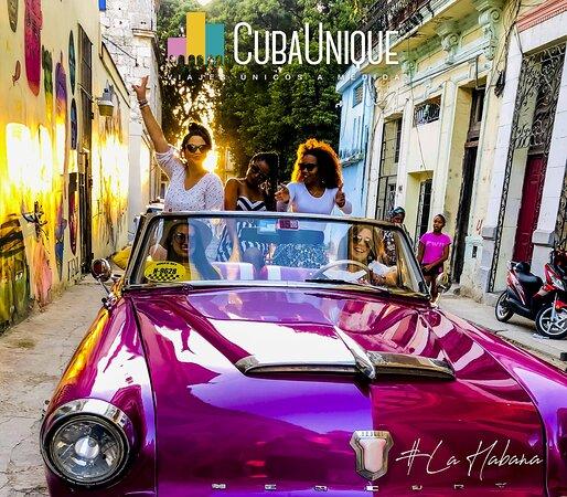 Havana, Cuba: Recorrido en coche antiguo americano, la Habana, Cuba