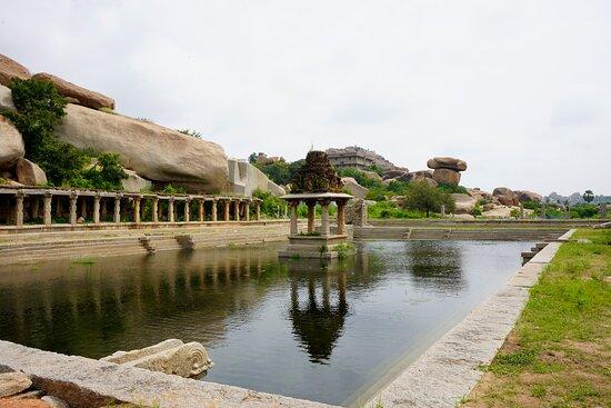 Hampi, India: Pushkarni